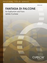 Curnow: Fantasia di Falcone for Euphonium published by Curnow