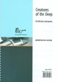 Wilson-Dickson: Creatures of the Deep for Tuba (Bass Clef) published by Brasswind