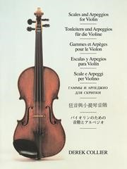 Collier: Scales And Arpeggios For Violin published by Faber