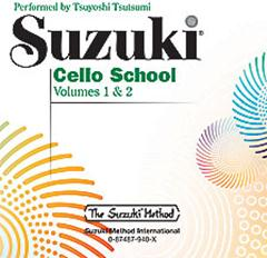 Suzuki Cello School Volume 1 and 2 CD Only published by Alfred
