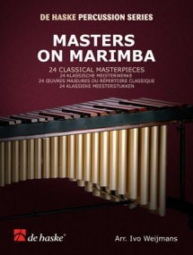 Masters on Marimba 24 Classical Masterpieces published by de Haske