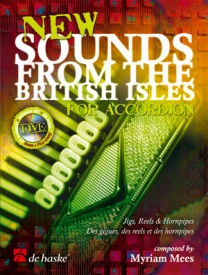 New Sounds from the British Isles for Accordion published by de Haske