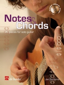 Bartlema: Notes & Chords: 20 pieces for solo guitar Book & CD published by De Haske