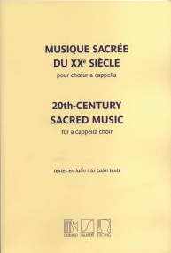20th-Century Sacred Music pour a cappella choir published by Durand