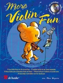 More Violin Fun Book & CD published by De haske