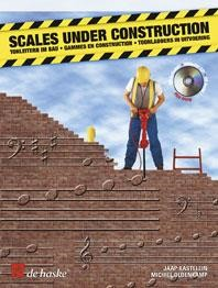 Scales under Construction for Trumpet Book & CD published by De Haske