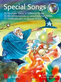 Special Songs - 35 Recorder Tunes in Different Styles Book & CD published by de Haske