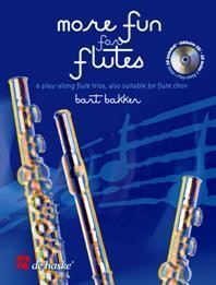 Bakker: More Fun for Flutes for Flute Trio published by De Haske