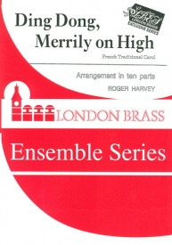 Ding Dong Merrily on High for 10 Part Brass published by Brasswind