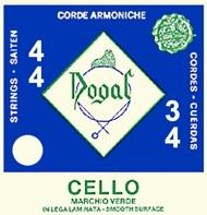 Dogal Green Label Cello C String - Size 1/2 & 1/4