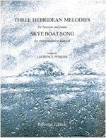 3 Hebridean Melodies and The Skye Boat Song for Bassoon published by Emerson