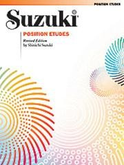 Suzuki Position Etudes for Violin published by Alfred