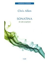Allen: Sonatina for Solo Saxophone published by Emerson