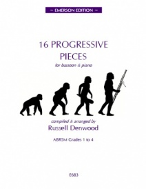16 Progressive Pieces for Bassoon published by Emerson