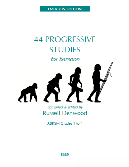 Denwood: 44 Progressive Studies for Bassoon published by Emerson