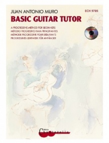 Muro: Basic Guitar Tutor published by Chanterelle (Book & CD)
