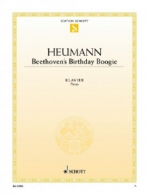 Heumann: Beethoven's Birthday Boogie for Piano published by Schott