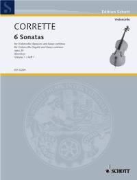 Les Délices de la Solitude Opus 20 Volume 1 for Bassoon or Cello by Corrette published by Schott