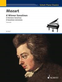 6 Viennese Sonatinas for Piano by Mozart published by Schott
