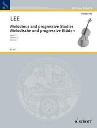 Lee: Melodious and Progressive Studies Opus 31/2 published by Schott