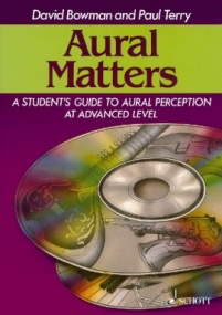 Aural Matters Book & CD published by Schott