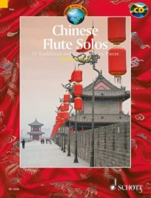Chinese Flute Solos published by Schott (Book & CD)