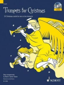 Trumpets for Christmas Book & CD published by Schott