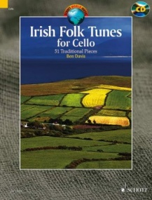 Irish Folk Tunes for Cello Book & CD published by Schott