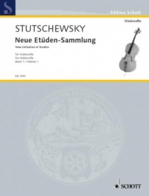 Stutschewsky: New Collection of Studies Book 1 for Cello published by Schott