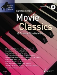 Piano Lounge: Movie Classics published by Schott (Book/Online Audio)