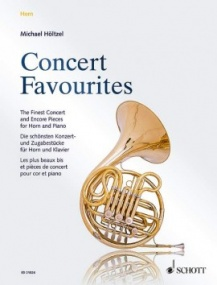 Concert Favourites for Horn published by Schott