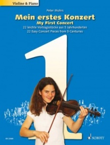 My First Concert For Violin (Book Only) published by Schott