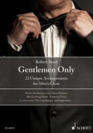 Gentlemen Only TTBB published by Schott