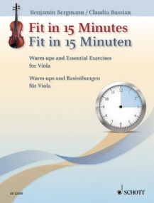 Fit in 15 Minutes for Viola published by Schott