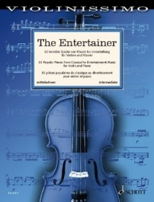 Violinissimo  -  The Entertainer for Violin and Piano published by Schott