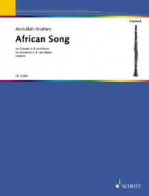 Ibrahim: African Song for Clarinet published by Schott