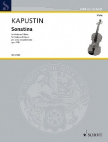 Kapustin: Sonatina Opus 158 for Viola published by Schott