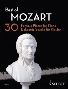 Best of Mozart for Piano published by Schott