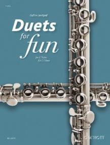 Duets for fun: Flutes published by Schott