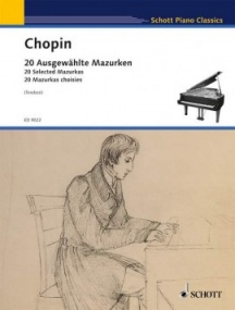 Chopin: 20 Selected Mazurkas for Piano published by Schott