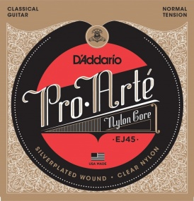 Pro Arte EJ45 Classical Guitar String Set - Normal Tension