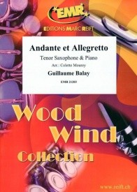 Balay: Andante et Allegretto for Tenor Saxophone published by Reift