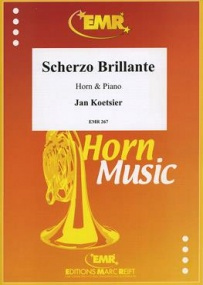 Koetsier: Scherzo Brilliante for Horn published by EMR