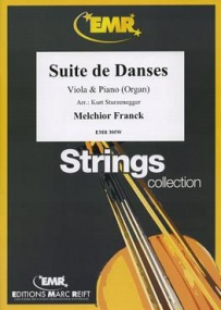 Franck: Suite de Danses for Viola published by Marc Reift