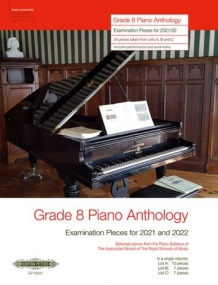Grade 8 Piano Anthology 2021-2022 published by Peters Edition