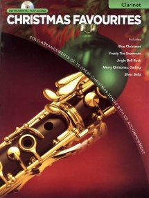 Christmas Favourites - Clarinet published by Hal Leonard (Book & CD)