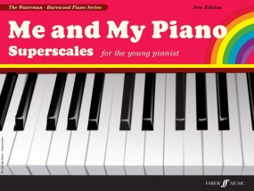 Me and My Piano Superscales published by Faber