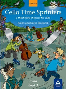 Cello Time Sprinters published by OUP (Book/Online Audio)