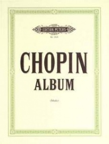 Chopin: Album of 32 Selected Pieces for Piano published by Peters