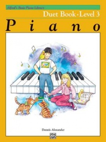 Alfred's Basic Piano Course: Duet Book 3